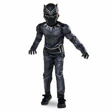 Captain America Civil War Black Panther Deluxe Disney Costume Marvel 5-6