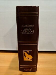 The Unabridged Jack London (1997, Leather Bound) Courage Books VERY GOOD!