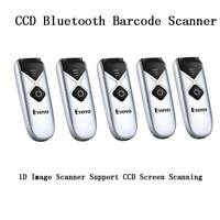 Eyoyo CCD Bluetooth Barcode Scanner 1D Image Scanner Support CCD Screen Scanning