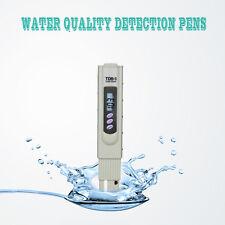 Water Quality Test Meter Digital Tool Temperature 0-9990 ppm TDS&EC Measurement