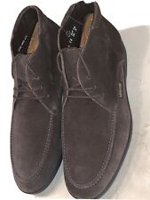 MEPHISTO 'STELIO' MENS BROWN SUEDE LEATHER CHUKKA BOOT SIZE 8M $200