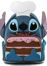 Disney STITCH Loungefly BAKER Mini backpack Bag Fye NYCC rare! Exclusive IN HAND