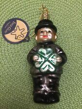 "Inge-Glas Christmas Ornament "" Lucky Chimney Sweep"""
