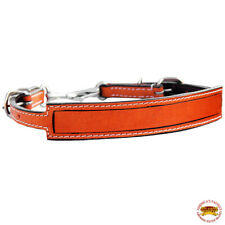 """New listing Hilason Horse Size Leather Breast Collar Wither Strap Tan Adjusts 24""""-27"""""""