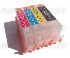 4 Refillable HP 564XL Ink Cartridge for Photosmart 6510 6520 7510 7520 (+ Chips)