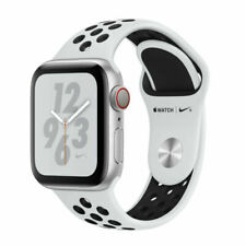 Apple Watch Series 4 Nike+ 40 mm Silver Aluminum Case with Pure...