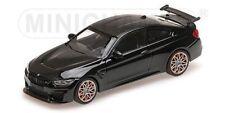 MINICHAMPS 410 025222, BMW M4 GTS, BLACK METALLIC + ORANGE WHEELS, 1:43 SCALE