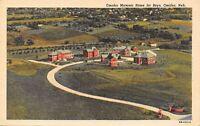 Omaha Nebraska~Masonic Home for Boys~1940s Postcard