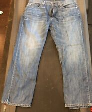 Levis 559 38x30 Medium Wash Relaxed Straight Fit Red Label Jeans Blue