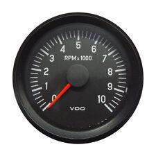 "Vdo cockpit international tachymètre gauge 10000 rpm 80mm 3.1"" 12V 333-035-022C"