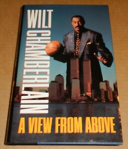 Wilt Chamberlain Autographed Signed Book A VIEW FROM ABOVE