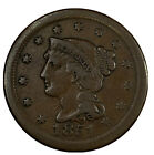 1851 Braided Hair Large Cent -Extra Fine Condition - XF