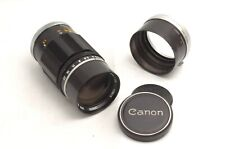 @ Ship in 24 Hours! @ Near Mint! @ Canon 135mm f3.5 Telephoto Leica M39 LTM Lens
