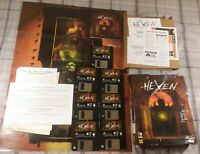 1995 Hexen Beyond Heretic PC 3.5 Floppy Complete | Damaged Box | Untested