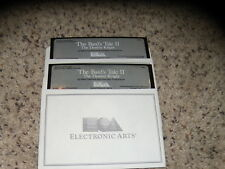 """The Bard's Tale II: The Destiny Knight Commodore 64 & 128 Game 5.25"""" disks"""