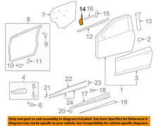 TOYOTA OEM 14-18 Yaris Front Door-Frame Molding Right 757510D040