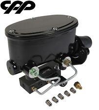 CPP Black Tandem Aluminum Master Cylinder Adjustable Prop Valve Combination Kit