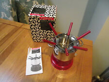 Typhoon Fondue Set For Meat, Cheese Or Chocolate