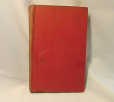 NORTH HANGER ABBEY-PERSUASION - JANE AUSTIN - 1949 - RED CLOTH HARD COVER-