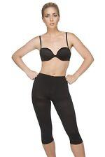 Vedette 706 Vivien Capri Length Panty Shaper - Black - Small