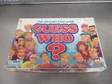 Milton Bradley Guess Who Mystery Face Game 1998