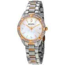 Bulova 98R263 Sutton 32.5MM Women's Rose Gold-Tone Stainless Steel Watch