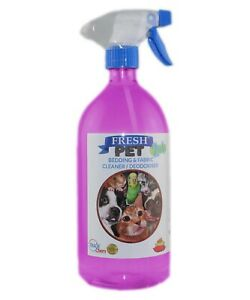 Fresh Pet 2-in-1 Bedding & Fabric Cleaner - 1L Spray - Bubblegum