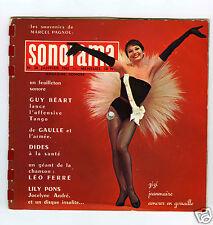 SONORAMA No 36 JANVIER 1962 ZIZI JEANMAIRE LEO FERRE
