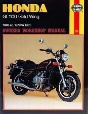 0669 Haynes Honda GL1100 Gold Wing (1979 - 1981) Workshop Manual