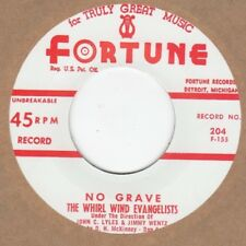 Whirl Wind Evangelist  No Grave FORTUNE 204  2nd  Soul Northern Motown