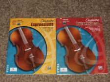Orchestra Expressions Cello Book 1 & 2 with Cd Brungard Alexander Alfred One Two