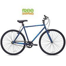 Kent Fitness Bike 700c Fixie Urban Men Sport City Bicycle Blue New!
