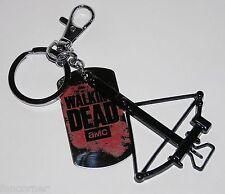 Porte cle the walking dead Porte Cles arbalette the walking dead metal keychain