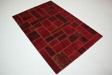 Tappeti rossi patchwork per bambini 100% Lana