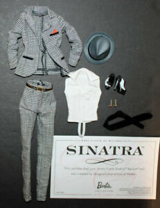 Sinatra Barbie Doll Fashion #T7908 Mattel 2011 Barbie Loves Pop Culture outfit