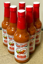Marie Sharp's Hot Habanero Hot Sauce (10 oz) - 6 pack of Bottles