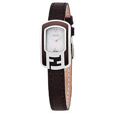 Fendi Women's Chameleon Mother of Pearl Swiss Quartz Small Watch F312024521D1