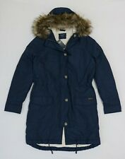 Abercrombie Women Military Sherpa lined Parka jacket size S , L new with tag
