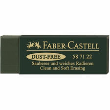 Faber-Castell Green Dust- Eraser 25137 fromJAPAN
