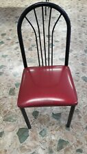 Restaurant Chairs Lot 83 each used  Red/Black