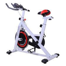 HOMCOM Cyclette Professionale per Allenamento Fitness da Casa Altezza Regolabile
