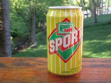 Mountain Dew Sport Pull Top Soda Can ( Extremely Tough )