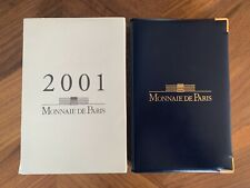 FRANCE COFFRET BE 2001 EN FRANCS - MONNAIE DE PARIS - RARE