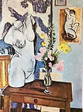 Henri Matisse Le torse de plâtre lithographie Musée Sao Paulo Brésil