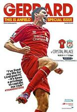 * STEVEN GERRARD'S LAST HOME GAME - LIVERPOOL v CRYSTAL PALACE - 16th MAY 2015 *