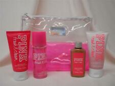 Victoria Secret~PINK~ FRESH & CLEAN 5Pc Gift Set MIST,CREAM, SCRUB,BRONZER, BAG
