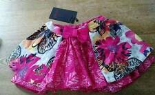 Catamini Baby Girl's Skirt 2 Layers Sz 6 Mos NWT Ethnique Floral Skirt