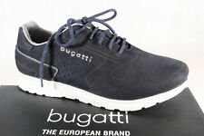 Bugatti Men's Lace-Up Trainers Dark Blue 70202 New