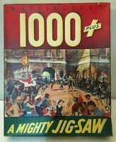 Vintage 1950s Waddington's 1000 Plus Jigsaw Puzzle - Changing Of The Guard