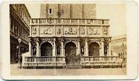 CDV Venezia Loggetta Foto originale all'albumina Carlo Ponti 1860c S1425